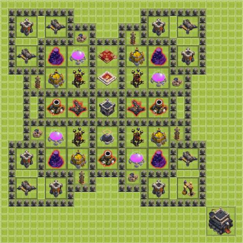 plan de ville hdv 9 9_farm10