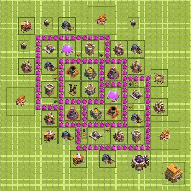 Plan de ville HDV 6 Farmin13