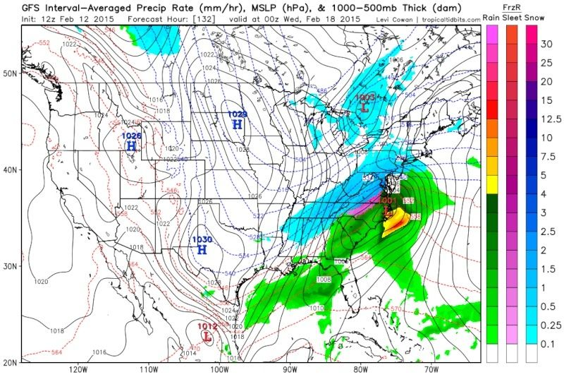 Winter Storm Threat 16th-18th - Page 2 Gfs_ms12