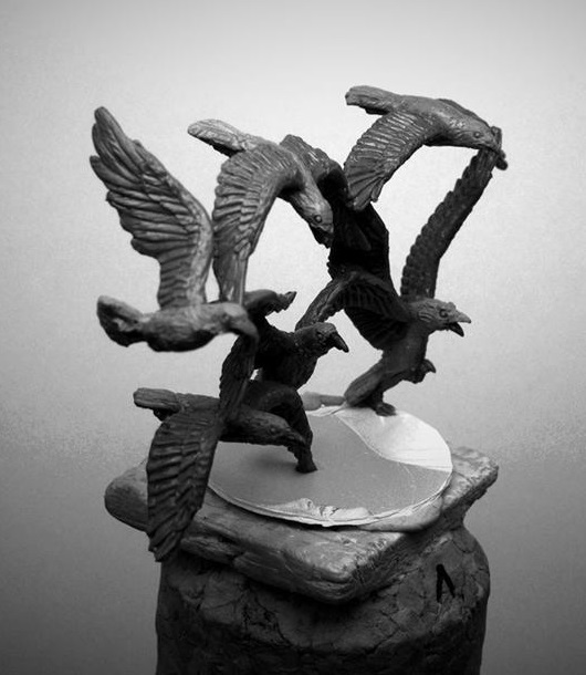 DE Beasts: only in failcasts & ungly. ¿Alternatives? Crows10