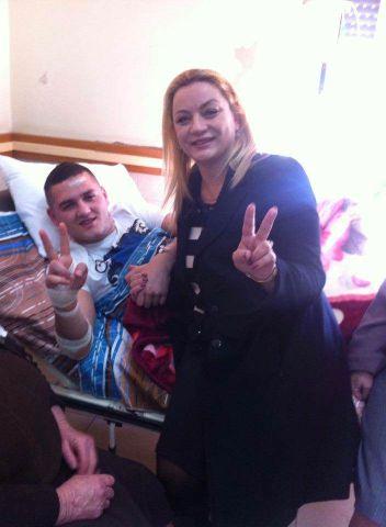 Greta Koçi në aksident ishte me të dashurin e saj... Greta210