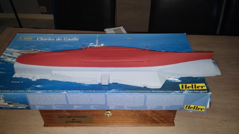 Porte avion Charles De Gaulle 1/400 heller par guismo 20150211