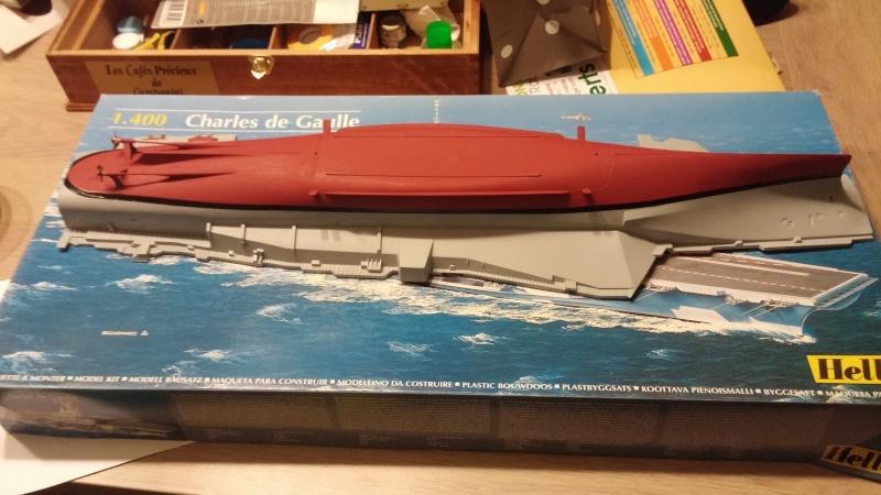 Porte avion Charles De Gaulle 1/400 heller par guismo - Page 2 20150212