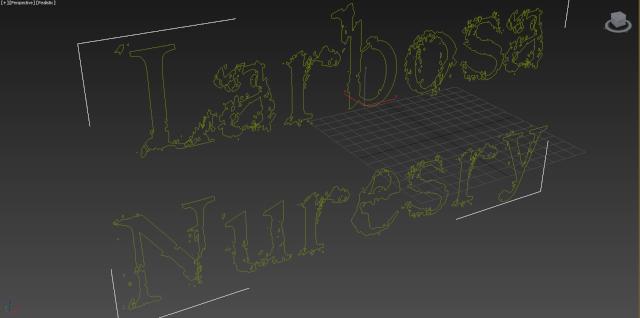 [Débutant] 3ds max - Créer un texte en 3D 610