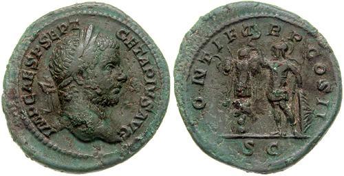 demi monnaie l'as de Nîmes Ric_0110