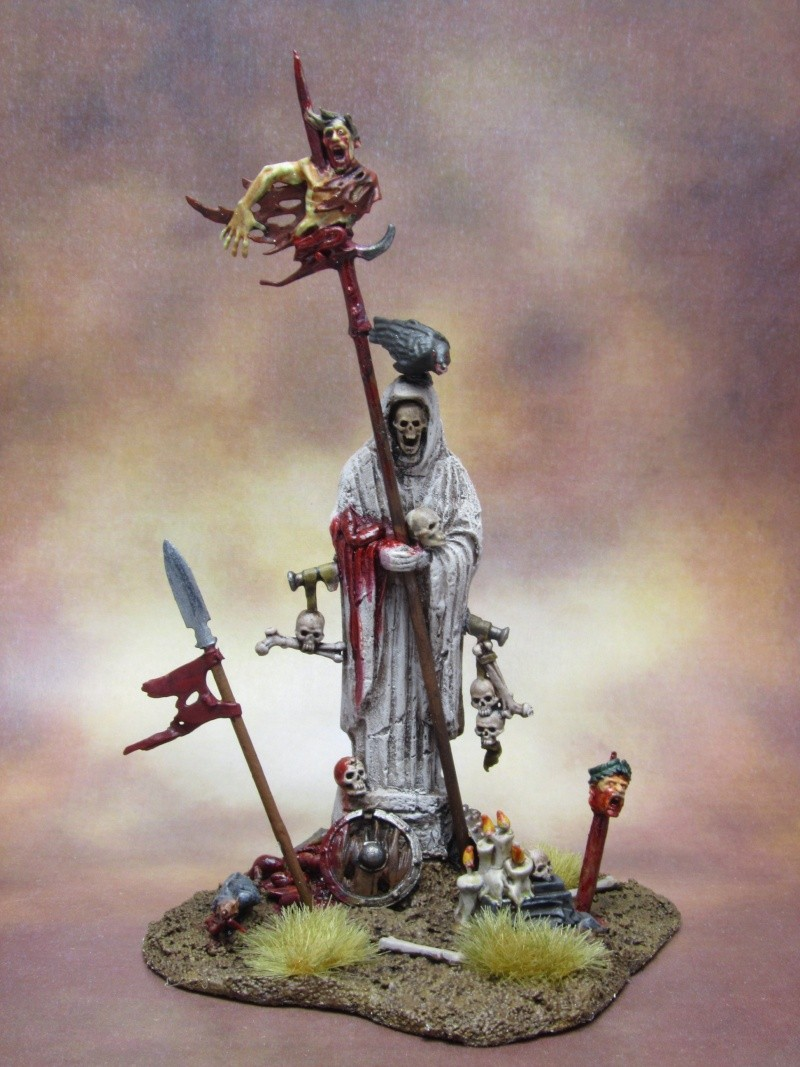 Statue [DECOR, Comtes Vampires, WARHAMMER] Statue10