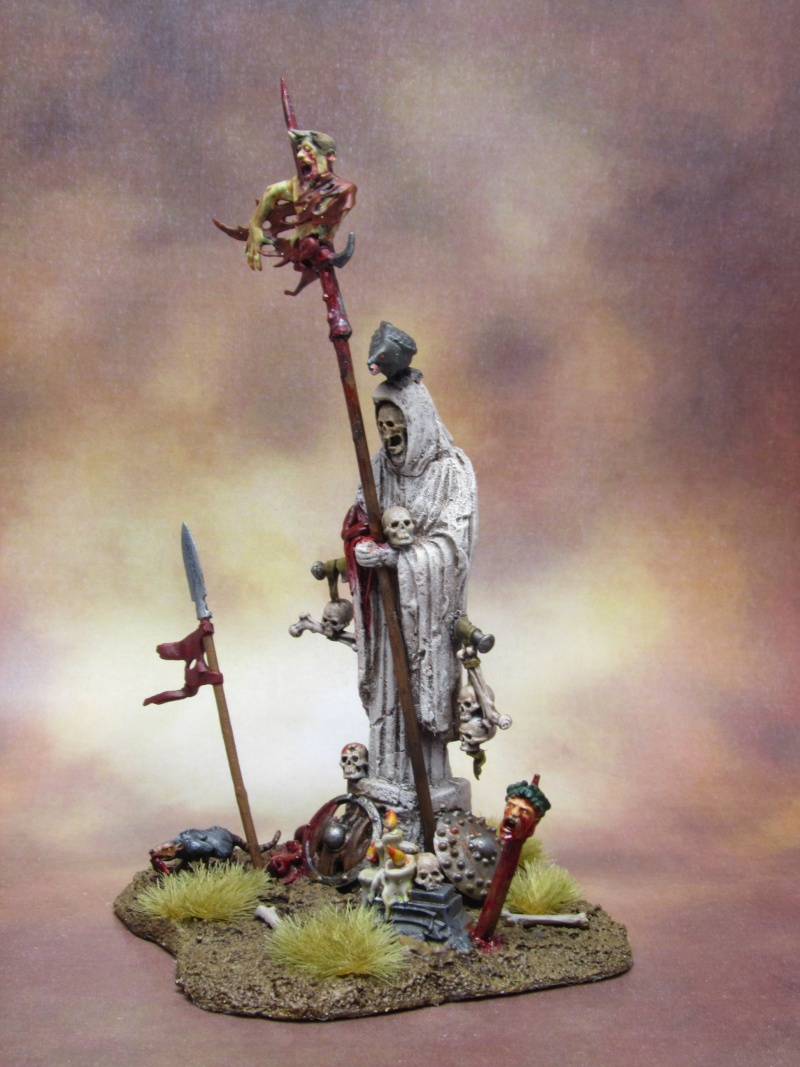 Statue [DECOR, Comtes Vampires, WARHAMMER] Statue11
