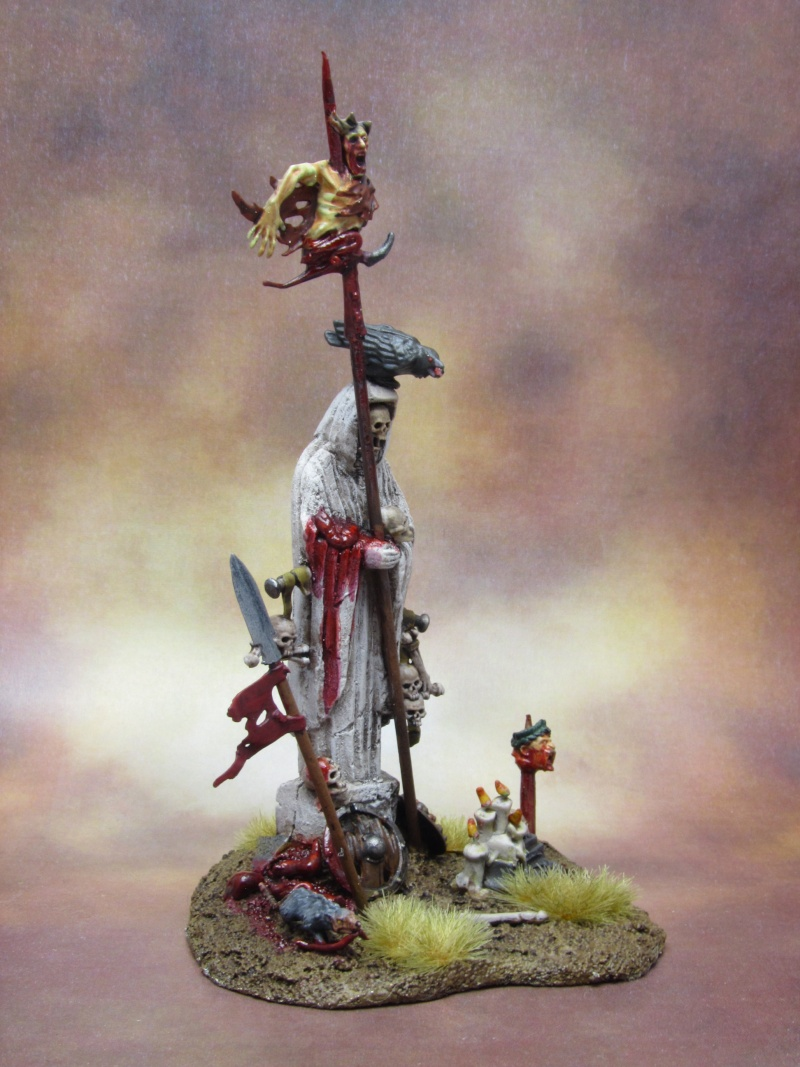 Statue [DECOR, Comtes Vampires, WARHAMMER] Statue12
