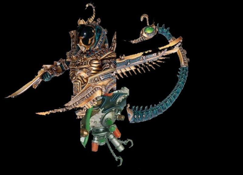 Necrosphinx - > Pain Engine kitbash Sphinx10
