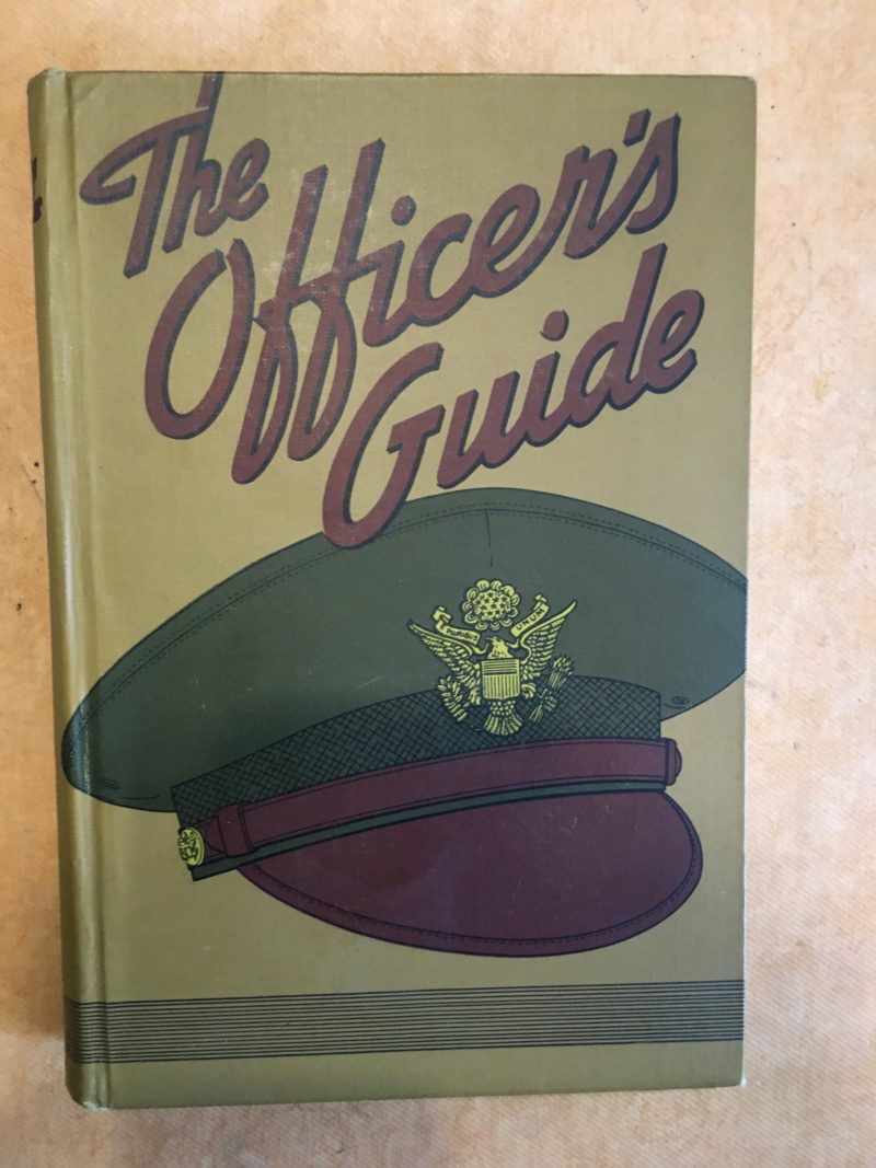 Officer's guide book US WW2 Img_0181