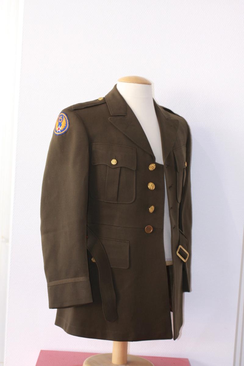 Vareuse officier US 15 AF / 28 ID Img_0822