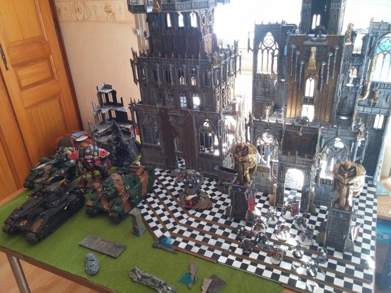 Décors basilique/forteresse imperiale War111