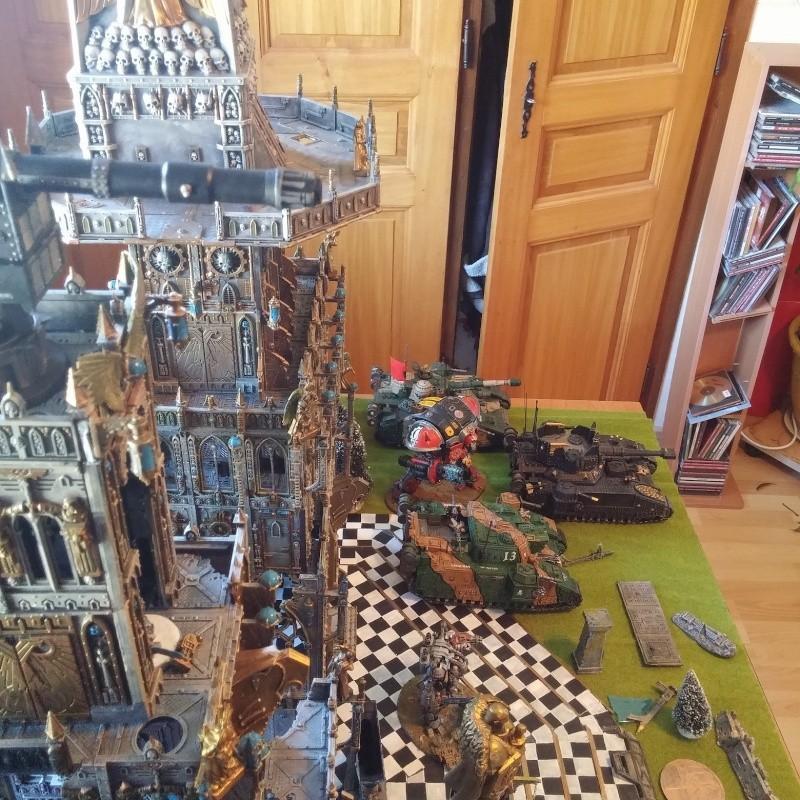Décors basilique/forteresse imperiale War510