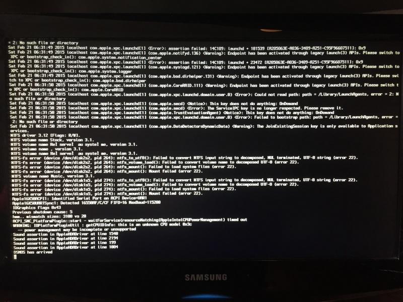 PC reboot pendant instal - Clef USB OS X (Yosemite dans Windows ) - Page 2 Img_1219
