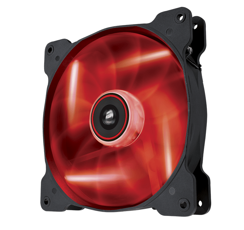 FS- 2*Fan Corsair Air Series AF140 LED Red Quiet Edition High Airflow (NEW) Fan_af11