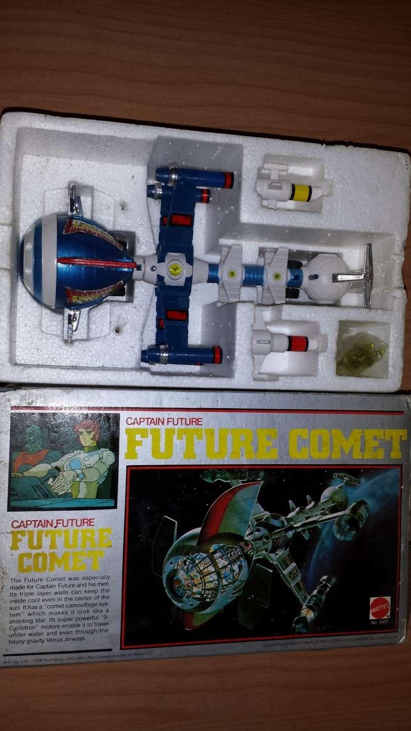 Captain Future, Future Comet, Metallo pressofuso 20150225