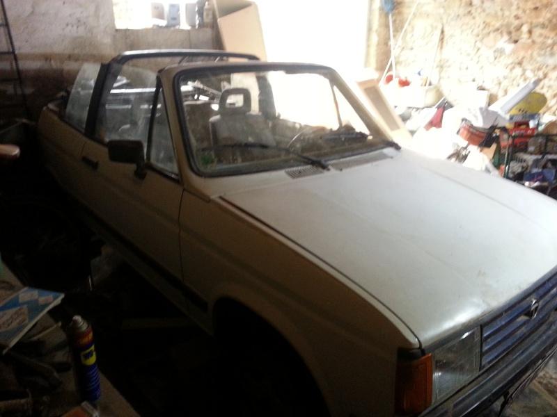 Vends samba cabriolet à restaurer 20150213