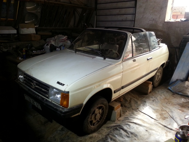 Vends samba cabriolet à restaurer 20150214
