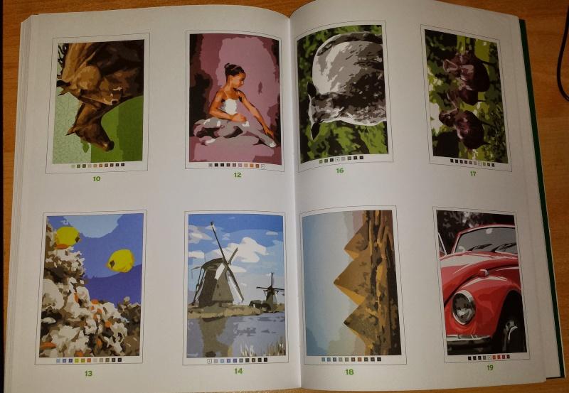 coloriage 100 coloriage mystère de chez Hachette 20150216