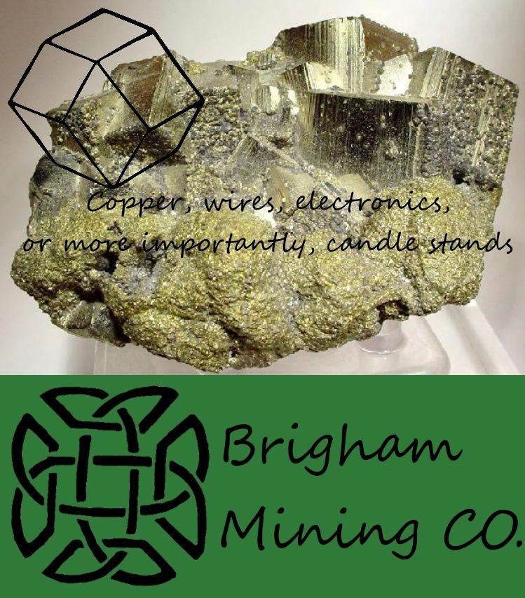 Brigham Mining CO. Copper10
