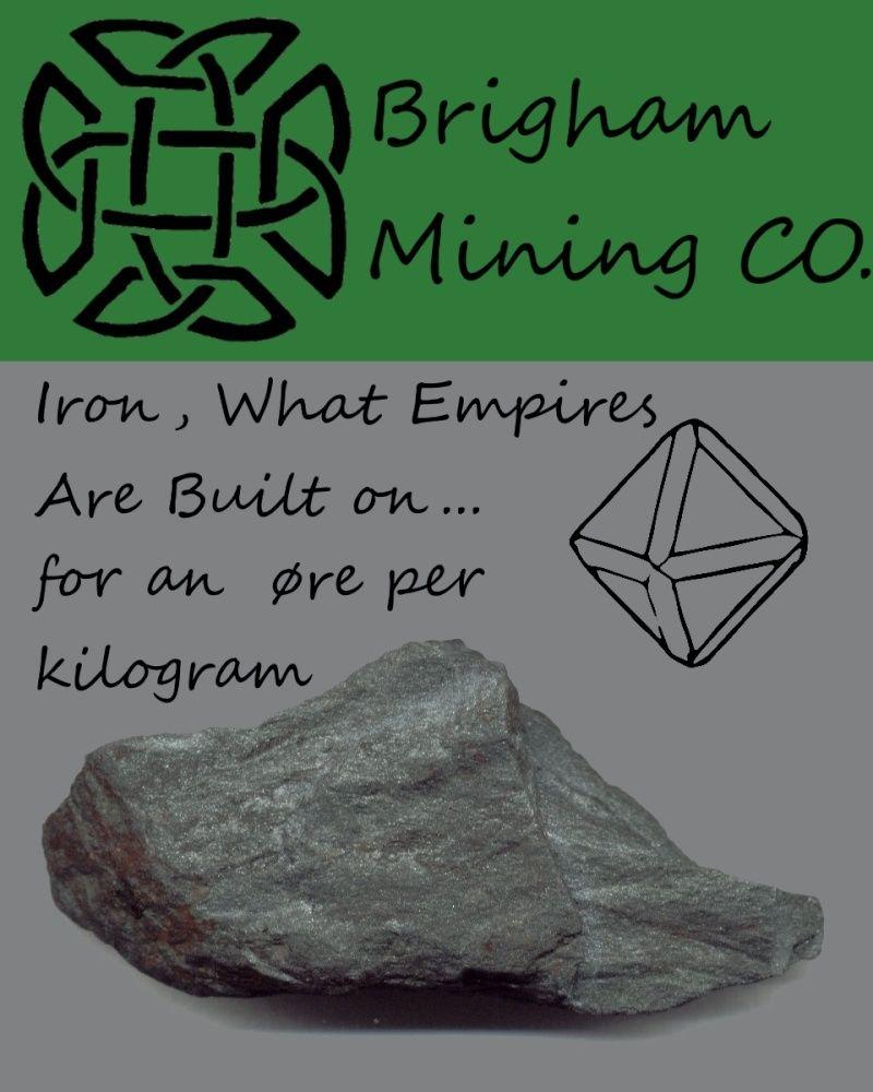 Brigham Mining CO. Iron_o10