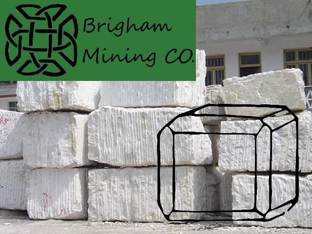 Brigham Mining CO. Marble10