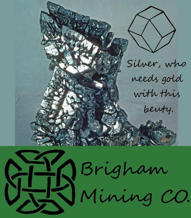 Brigham Mining CO. Silver10