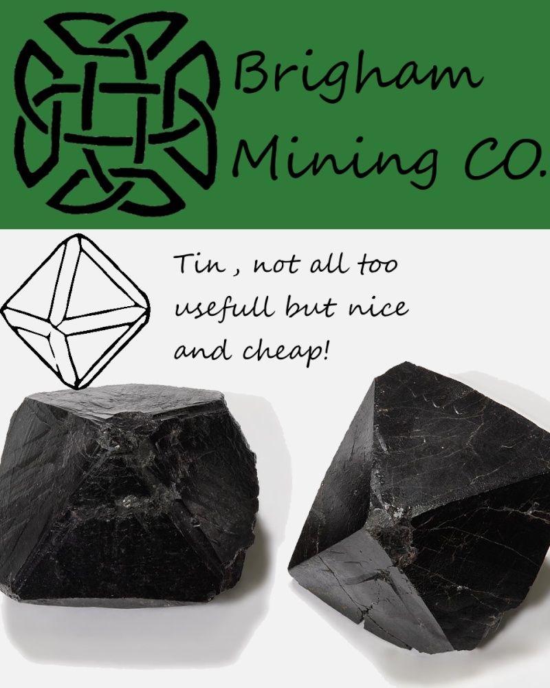 Brigham Mining CO. Tin_or10