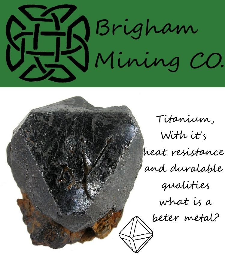 Brigham Mining CO. Titain10