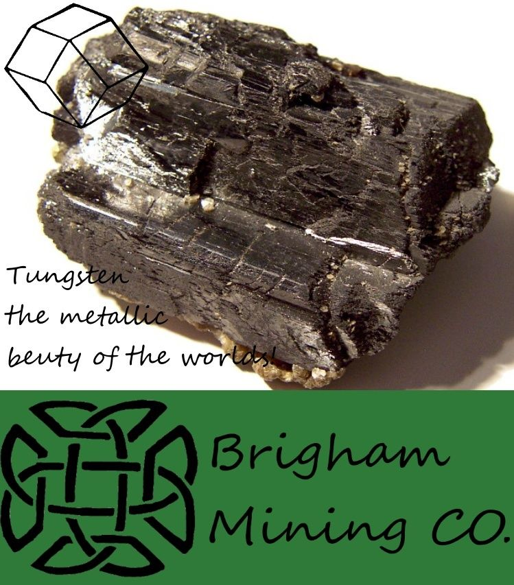 Brigham Mining CO. Tungst10