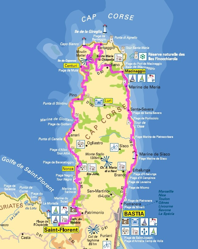 La Corse en 13 jours J110