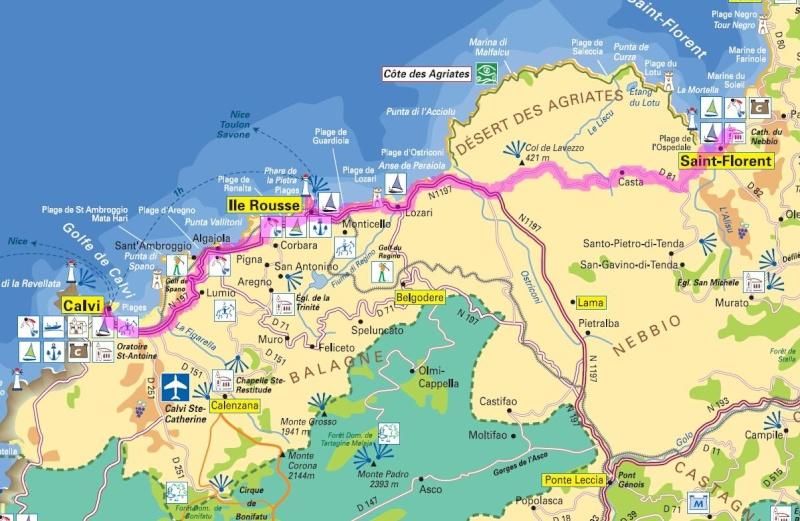La Corse en 13 jours J610