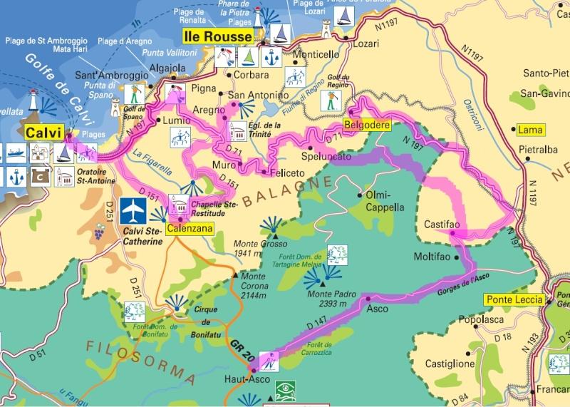La Corse en 13 jours J710