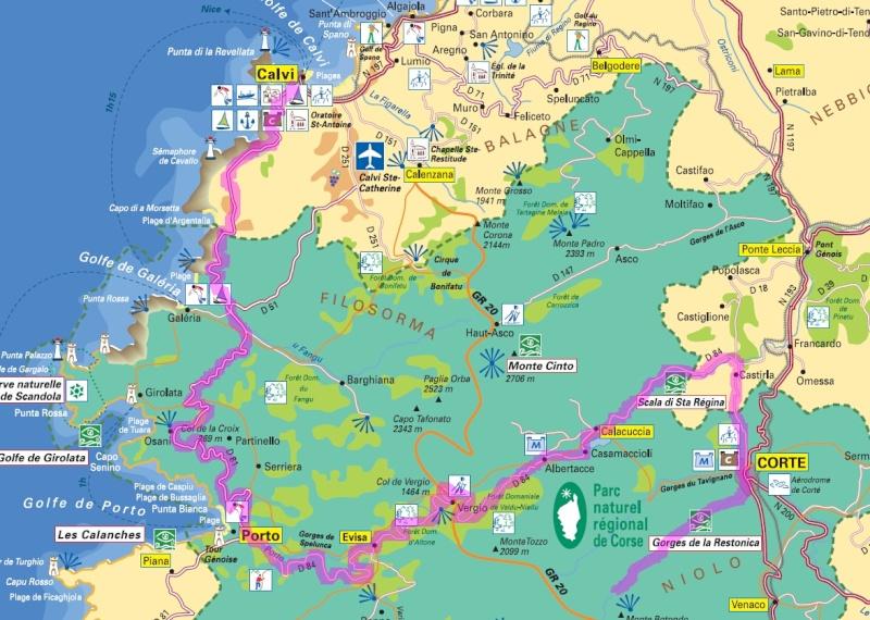 La Corse en 13 jours J810