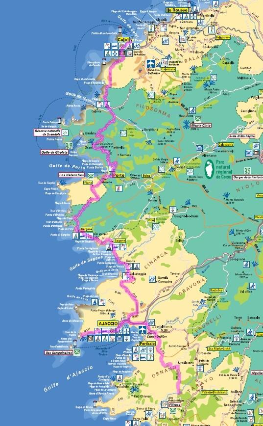 La Corse en 13 jours J910