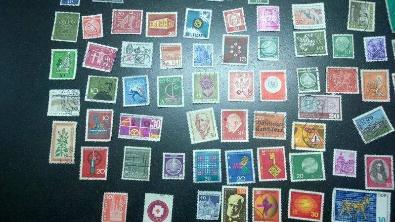 Schätzung Briefmarkensammlung vorrangig 60er Jahre Gesamt10