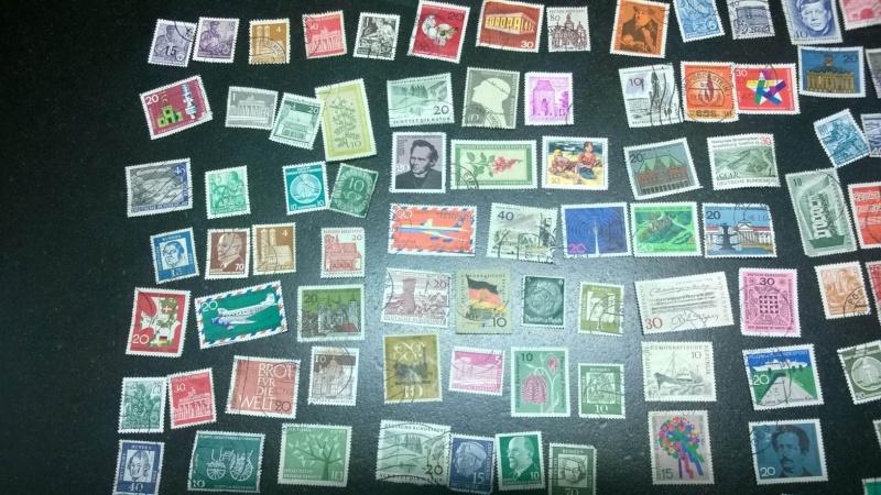 Schätzung Briefmarkensammlung vorrangig 60er Jahre Gesamt11