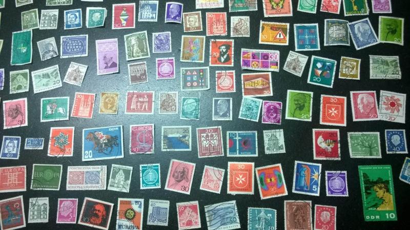 Schätzung Briefmarkensammlung vorrangig 60er Jahre Gesamt13