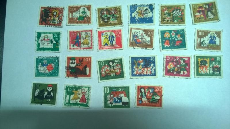 Schätzung Briefmarkensammlung vorrangig 60er Jahre Myrche10