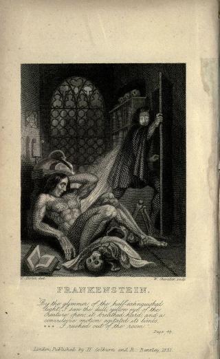 Frankenstein ou le Prométhée moderne par Mary Shelley 640px-13