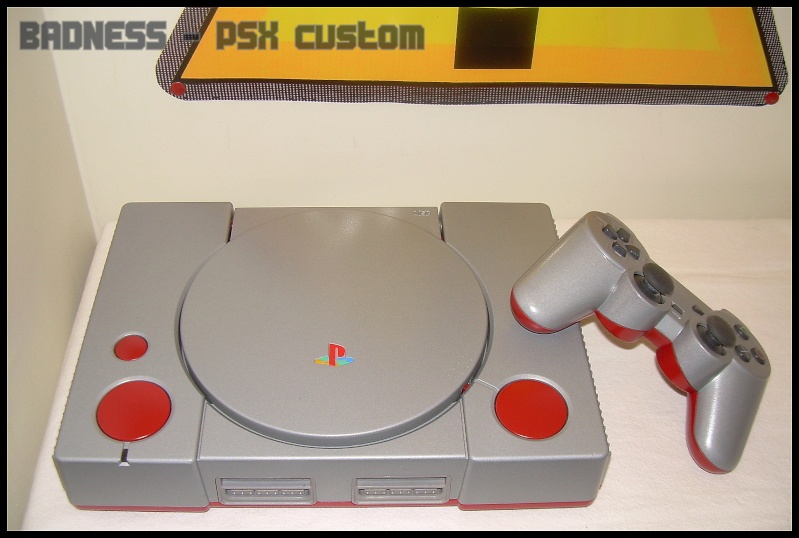 Custom Playstation 1 , PSX Dscn1318