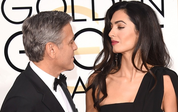 George and Amal Clooney spotted at LAX Image15