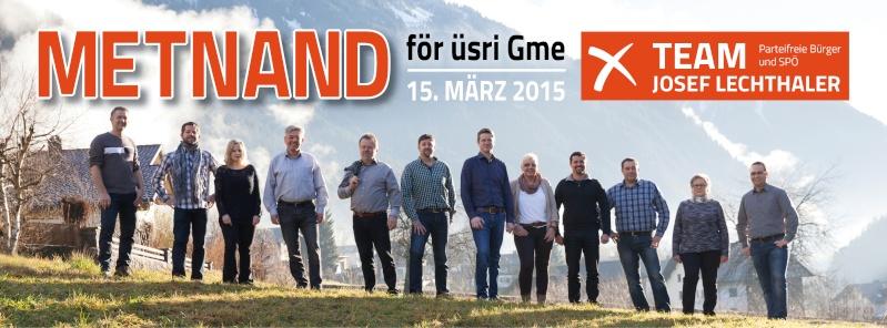 Team Josef Lechthaler - Parteifreie Bürger und SPÖ