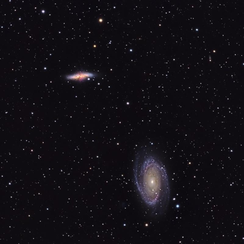 M81 L RGB 40 poses 600s -25 M8110