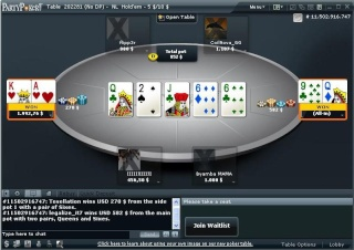 Comparison of No Deposit Party Poker Bounses 2015 Partyp12