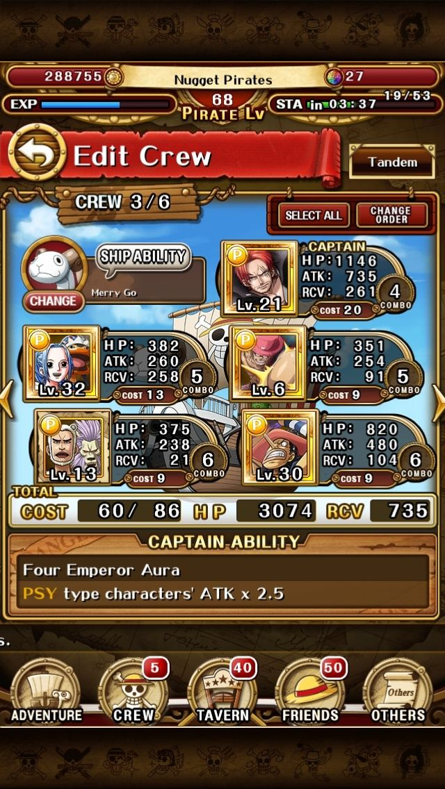 Post your One Piece Treasure Cruise ID here - Page 4 Img_3510