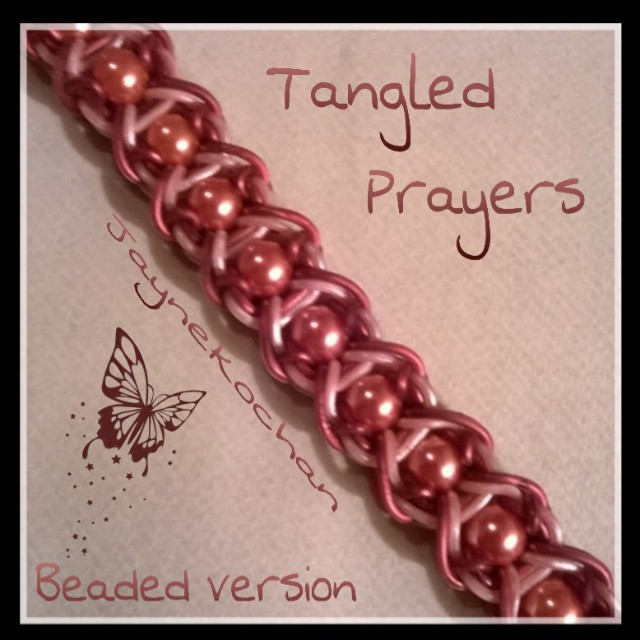 Hook only : Tangled Prayers Tangle12