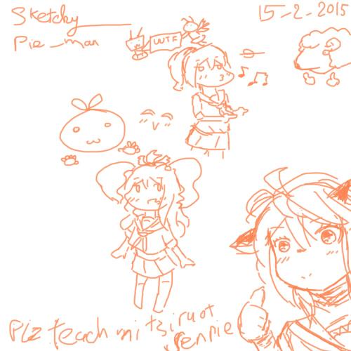 Junk sketchies Messed11