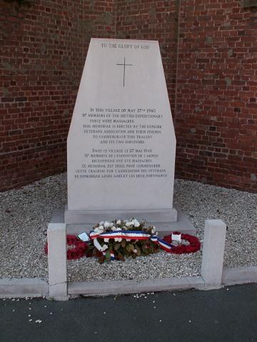 """""""Massacre du Paradis"""" de Lestrem le 27 Mai 1940 . Lestre10"""