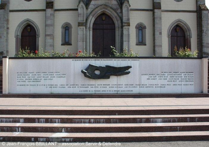 Monument aux morts de Ballersdorf Sans-t10